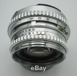 1968 HASSELBLAD 500C CHROME CAMERA BODY+ZEISS PLANAR 80mm + A12 FILM BACK