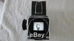 500c Victor Hasselblad Medium Format Film Camera Works Fine No Lens Back Vintage