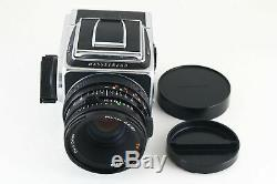 AB- Exc Hasselblad 503CX Camera withPlanar CF 80mm f/2.8 T Lens, A12 Back 5963