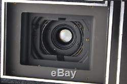 AB- Exc Horseman CONVERTIBLE 6x7 Camera Black 62mm f/5.6 Lens with120 Back R5047