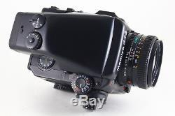 AB- Exc Mamiya 645 PRO Camera withSEKOR C 80mm f/2.8 N, AE Finder, 120 Back 5209