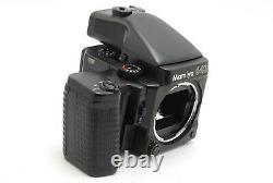 AB- Exc Mamiya M645 SUPER Medium Format Camera withAE, Grip, 120 Film Back 6689