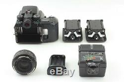 ALL MINT Set Pentax 645N + A 75mm f/2.8 Lens, 120 / 220 Back etc from JAPAN