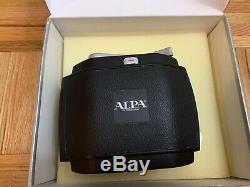 ALPA 12TC series cameras 6x9 Linhof Film Back