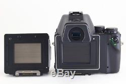A- Mint CONTAX 645 Camera with Planar 80mm f/2 T Lens, MF-1, MFB-1B Back R5023