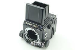 Almost MINT Mamiya RZ67 Pro II Sekor Z 110mm f2.8 W Lens 120 Film Back Japan