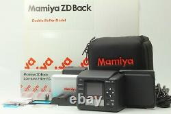 Almost Unused Mamiya ZD Digital Back Double Buffer For RZ67 IID 645AFD JAPAN