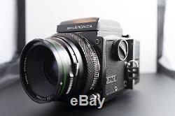 Bronica 645 ETRS Kit AEII Metered Prism, WLF, 2x Extra 120 Film Backs