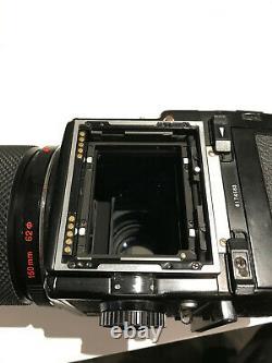 Bronica ETRS Kit, 120 film back, 150mm f3.5 Zenzanon MC lens, Waist Level