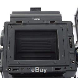 Bronica ETRSi / 75mm f2.8 PE / WLF / Crank / 120 Back / Strap, near mint
