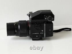 Bronica ETRSi Kit inc. 50mm/75mm/200mm lenses, 2 x 120 backs, AEii Prism