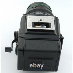 Bronica ETRSi / WLF / 75mm EII / ETR 120 Back / Crank, excellent + (19350)