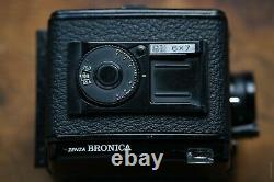 Bronica GS-1 with 100mm F/3.5 Zenzanon PG Lens and TWO Film Backs-Works Great