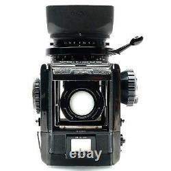 Bronica S2 Black with 75mm f2.8 and Back