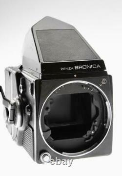 Bronica SQ-A Camera Outfit With Prism 80mm F/2.8 220 Back
