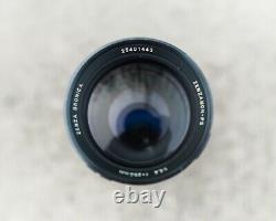 Bronica SQ-Ai + 120 back + prism finder + 80mm f/2.8 + 250mm f/5.6 Zenzanon PS