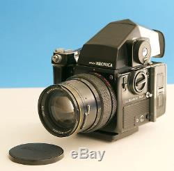 Bronica SQ-Ai, Meter Prism, 120 Back, Grip and Zenzanon-S 150mm
