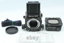 CLA'd MINT Mamiya RZ67 Pro II Medium Format Camera 120 Film Back From Japan