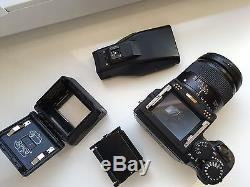 CONTAX 645 + Phase One H10 + Zeiss 3.5/55 + MF-1 prism + MFB-1 back + MFB-1A