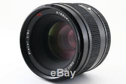 C Normal CONTAX 645 Camera withPlanar 80mm f/2 T Lens MF-1 MFB-1B 220 Back 5256