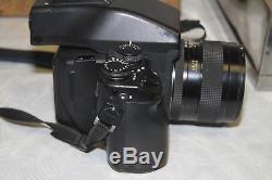 Contax 645 AF Medium Format camera, Zeiss Planar f2/80mm T Lens, MFB-1A Back, MF-1