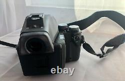 Contax 645 with Carl Zeiss Planar 2/80 lens, film back excellent condition