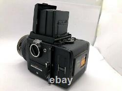 EXC+5BRONICA SQ 6x6 Camera + Waist level Finder + S 80mm F2.8 + 120 Film Back