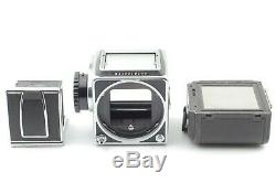 EXC+5Hasselblad 500CM 500C/M Film Camera with A12 6x6 Film Back From JAPAN #256