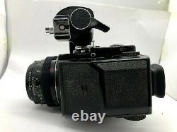 EXC+5 BRONICA ETR Film Camera + MC 75mm f2.8 + AE II Finder + 120 Film Back
