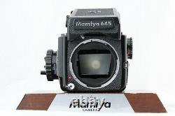 EXC+5 Mamiya M645 PD Finder + Sekor C 45mm f/2.8 120 Firm Back from JAPAN