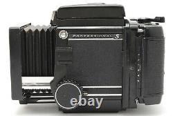 EXC+5 Mamiya RB67 Pro S Sekor C 90mm f3.8 120 Back Medium Format Body JAPAN