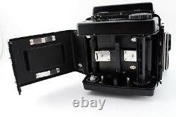 EXC +5 Mamiya RZ67 Pro Body + Waist Level Finder 120 Film Back from Japan 9541