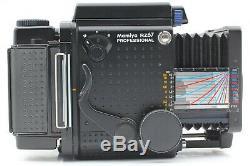 EXC+5 Mamiya RZ67 Pro with Sekor Z 90mm F3.5 W + 120 film Back x 2 From JAPAN