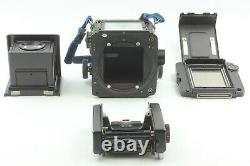 EXC+5 withStrap Mamiya RZ67 Pro Medium Format with 120 Film Back Pro II From JAPAN