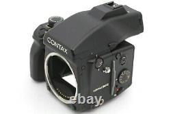 EXC+++++ Contax 645 with Carl Zeiss 45mm f2.8 Lens + 120/220 Film Back frm JAPAN