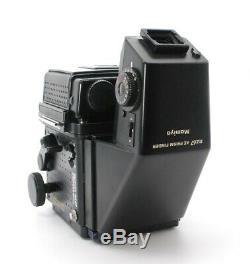 EXC+++++MAMIYA RZ67 Pro Z 50mm f/4.5 W 120 Film Back AE Finder From Japan #702