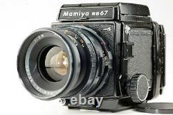 EXC++++ Mamiya RB67 Pro S with Sekor 90mm f/3.8 Lens + 120 Film Back From JAPAN