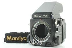 EXC+++ Mamiya RZ67 Pro Body + AE Prism Finder + 120 Film Back From JAPAN