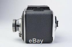 EXC++ ROLLEIFLEX SL66 with80mm F2.8, BACK, INSERT, WLF, MANUAL, VERY NICE, TESTED