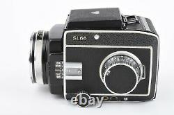 EXC++ ROLLEI ROLLEIFLEX SL66 withPLANAR 80mm f2.8 LENS, 120 BACK, VERY CLEAN, NICE