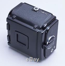EX+ HASSELBLAD LATEST A24 220 ROLL FILM BACK BLACK With MATCHING INSERT, SLIDE