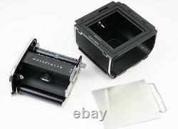 EX++ Japan Star Hasselblad 501cm Silver Camera with A12 Film Back