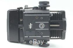 Exc5 Mamiya RZ67 Pro II Body with 120 6x7 & 645, Polaroid Film Backs From Japan