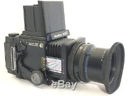 Exc+3 Mamiya RZ67 Pro Camera withSekor Z 65mm F4 W 120 Film Back from Japan 1189