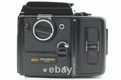 Exc+4 BRONICA SQ 6x6 with Zenzanon S 80mm f2.8 Lens 120 Back From JAPAN