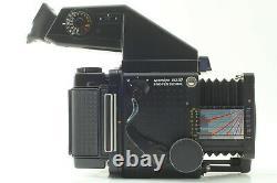 Exc+4 Mamiya RZ67 Pro + Z 110mm f/2.8 lens + AE Finder, 120 Film Back, JAPAN