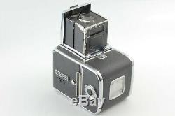 Exc+5 Hasselblad 500 C/M CM Body Medium Format + 6x6 A12 120 Film Back Japan