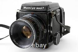 Exc+5 Mamiya RB67 Pro + Sekor 127mm F/3.8, 120 Roll Film Back from Japan