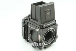 Exc+5 with Strap MAMIYA RB67 Pro S SEKOR C 90mm f3.8 with Hood 120 Film Back JAPAN