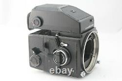 Exc+++++ Bronica ETR MC 75mm F/2.8 Lens AE finder 120 Film Back from Japan